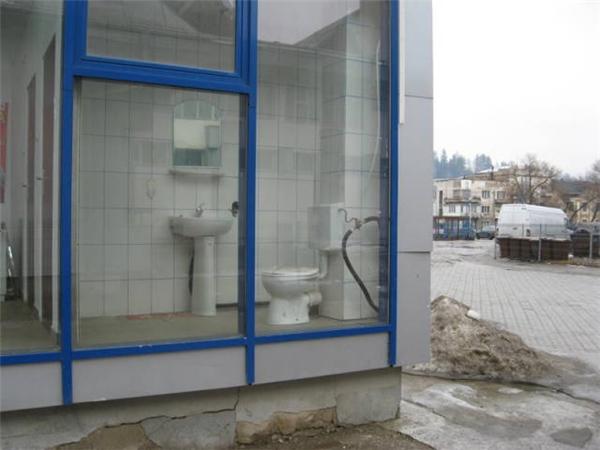 Nhà vệ sinh độc nhất vô nhịdành cho những người tự tin.