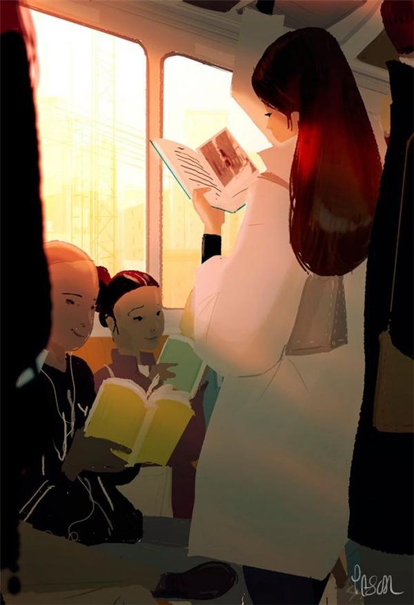 Chỉ cần vứt đi chiếc điện thoại thông minh, bạn hoàn toàn có thể tận hưởng một cuộc sống tuyệt vời bên những trang sách.