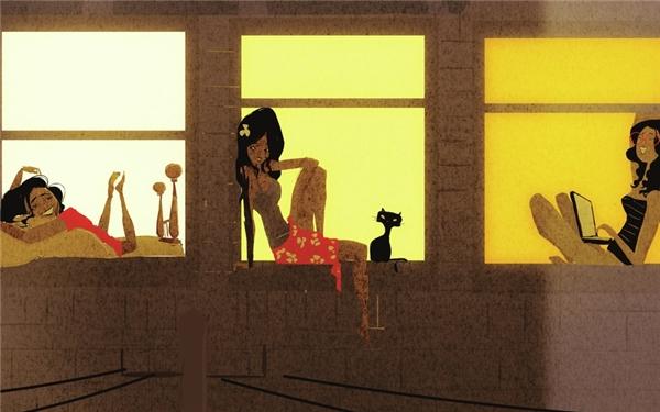Khi cô đơn thì những cuộc tán gẫu của các cô bạn luôn đem lại nụ cười vui vẻ đầy bất ngờ.