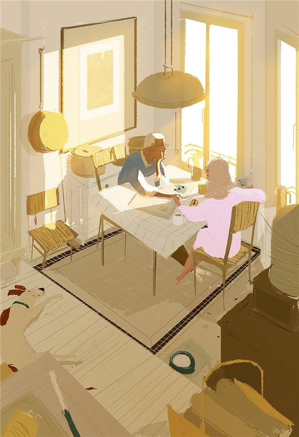 Đến cuối cuộc đời, người thành công nhất không phải là người giàu có nhất mà chính là người giữ được tình yêu của mình ở lại.