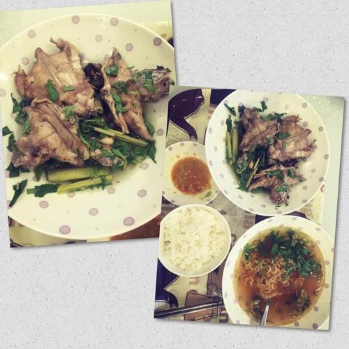 Trong mỗi bữa ăn của người đẹp Trà Vinh luôn có những món ăn dân dã như rau luộc, mì gói làm canh, chuột đồng hay cá khô... - Tin sao Viet - Tin tuc sao Viet - Scandal sao Viet - Tin tuc cua Sao - Tin cua Sao