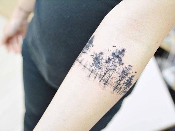 Với một bức tranh phong cảnh đầy tính nghệ thuật như thế này, liệucòn có ai để ý đến những vết sẹo hình dáng ra sao cơ chứ.