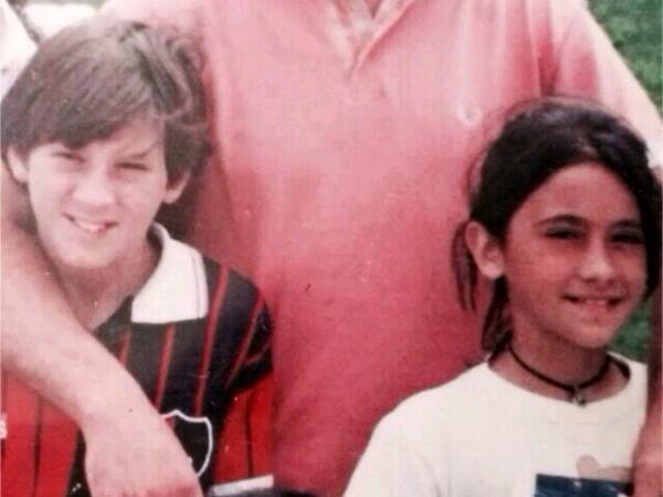 Messi và Antonella biết nhau từ thơ ấu