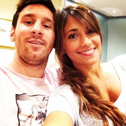 Messi đã có cam kết tình yêu với Antonella khi mới 9 tuổi