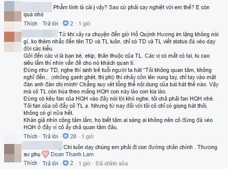 Cộng đồng mạng phản đối Thanh Lam, Tùng Dương bị