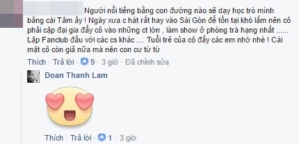Thanh Lam sử dụng biểu tượng icon vui nhộn trước bình luận với mục đích bôi nhọ Hồ Quỳnh Hương.