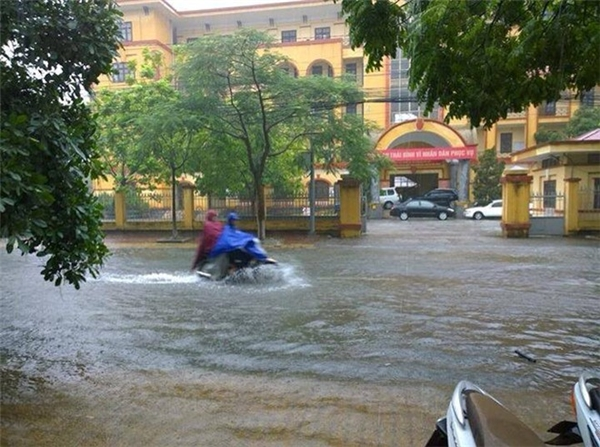 Dự kiến cơn bão này sẽ gây ra mưa to ở nhiều nơi. Ảnh minh họa: Internet