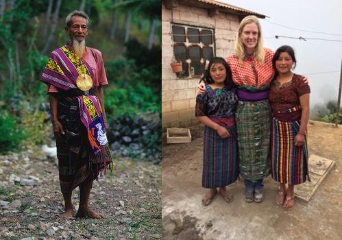 Đàn ông Đông Timor và phụ nữ Guatemala. (Ảnh: Internet)