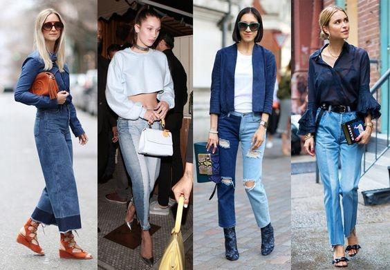 4 kiểu quần jeans 2 màu đang được đông đảo các bạn trẻ toàn thế giới ưa chuộng.