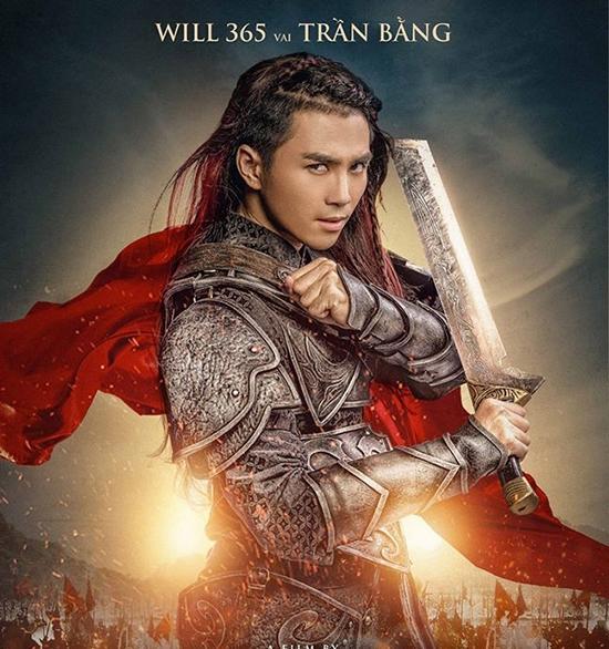Tạo hình của Will trong vai Tướng Trần Bằng.