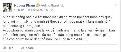 Chia sẻ mới nhất của Phạm Hương.