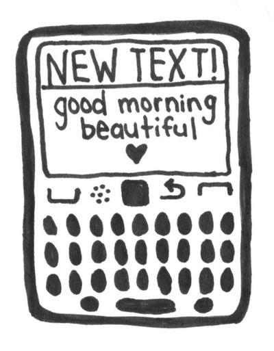 #13 Tin nhắn chào buổi sáng và chúc ngủ ngon có tác dụng kích hoạt chức năng hạnh phúc của não.(Ảnh: Internet)
