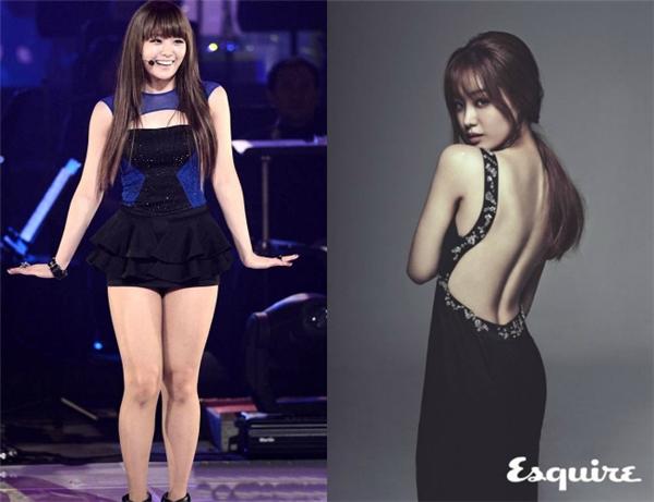 Song Ji Eun ngày càng xinh đẹp và quyến rũ sau khi giảm cân. Thân hình chuẩn đến từng centimet của nữ ca sĩ thậtsự khiến fan bất ngờ trước sự thay đổi trước và sau giảm cân.