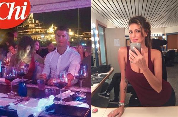Ronaldo trải qua buổi tối vui vẻ cùng siêu mẫu Cristina Buccino tại Ibiza.