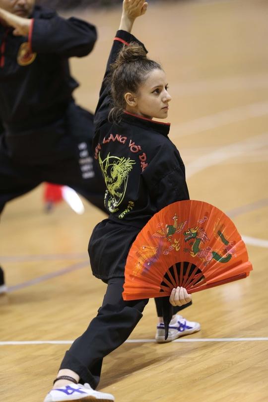 Những bóng hồng yêu võ Việt