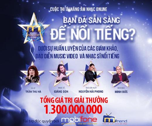 Giới trẻ sục sôi với cuộc thi âm nhạc giải thưởng khủng hơn 1 tỉ đồng