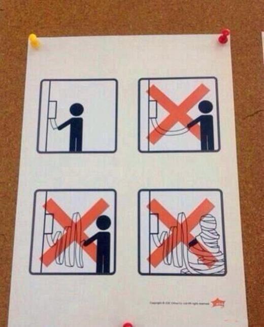 Xé giấy vệ sinh là cả một nghệ thuật, mà xé không nên thân thì chỉ có thể là kẻ phá hoại thôi.