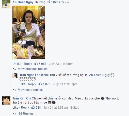 An ủi Kim Chi sau khi tập 6 phát sóng. - Tin sao Viet - Tin tuc sao Viet - Scandal sao Viet - Tin tuc cua Sao - Tin cua Sao