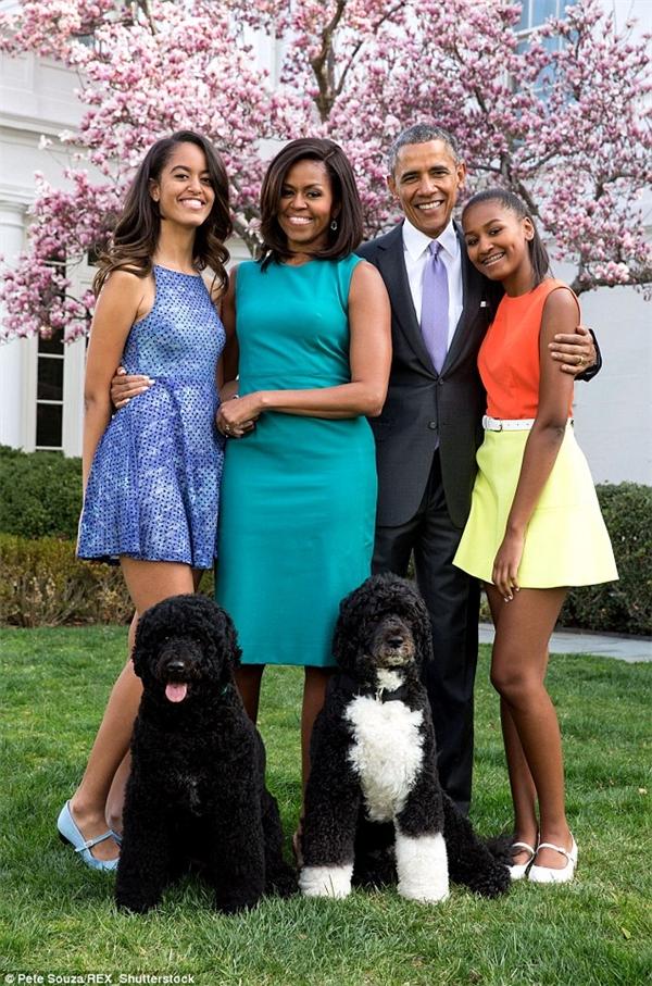 Gia đình của Tổng thống Obama.