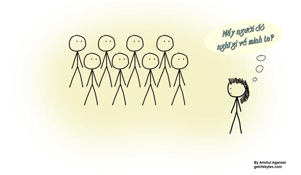 Ngày trước, mỗi khi đến chốn đông người, tôi thường tự hỏi liệu bọn họ có thích mình không?