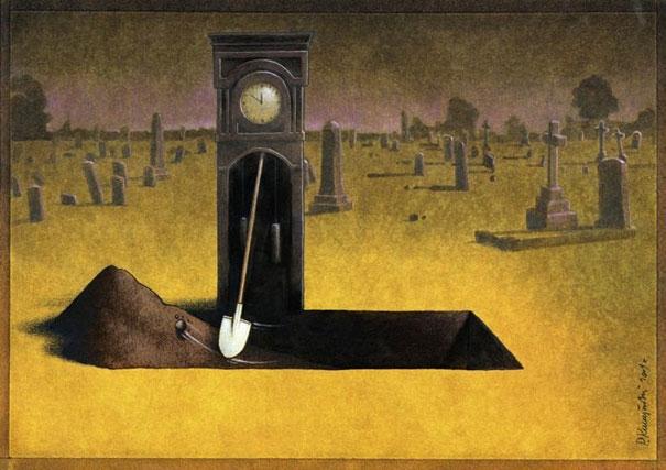 Mỗi ngày trôi qua là một ngày chúng ta tiến gần hơn đến nấm mồ của chính mình.