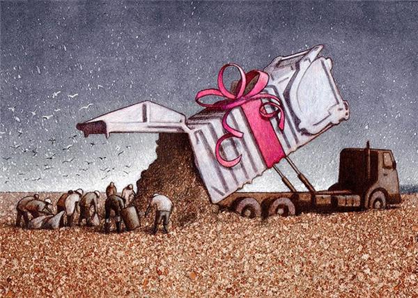 Món quà lớn nhất mà con người để lại cho hành tinh này là một đống rác.