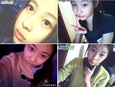Đôi mắt to tròn và đường nét xinh đẹp của Sunmi (Wonder Girls) đã rất nổi bật từ khi nữ thần tượng còn khá nhỏ tuổi.