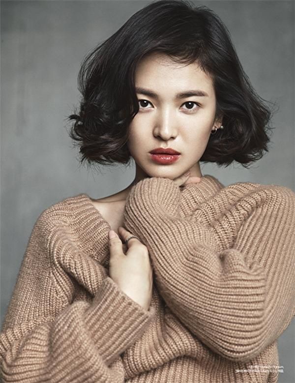 Song Hye Kyo có đôi mắt ướt và biểu cảm chân thật.(Ảnh: Internet)
