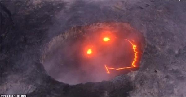 Như gần đây, Mẹ Thiên Nhiên đã mỉm cười trên núi lửa Kilauea ở Hawaii này!(Ảnh: Internet)