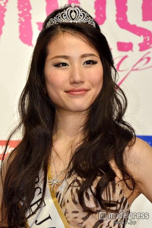 Hoa hậu Hoàn vũ Nhật Bản Keiko Tsuji.