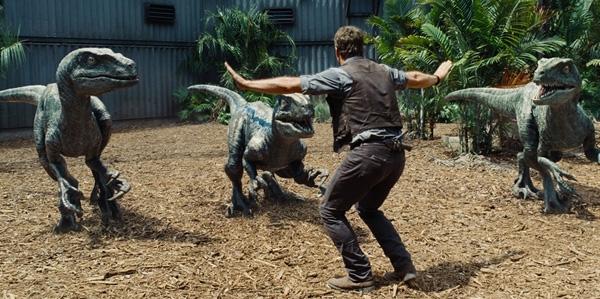 Những con khủng long siêu phàm và Chris Prattlà tất cả những gì làm nên thành công của bộ phim.