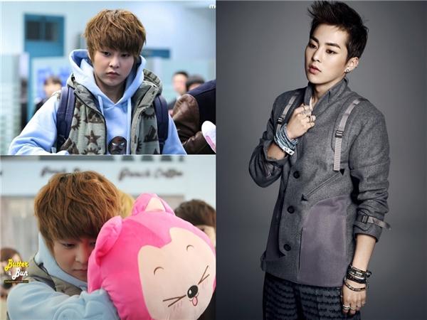 Xiu Min đúng thật là ca sĩ bảo bối của nhóm Exo. Ngoài một khuôn mặt không tuổi thì anh cũng từng có thân hình mũm mĩm đáng yêu đấy.(Ảnh: Internet)