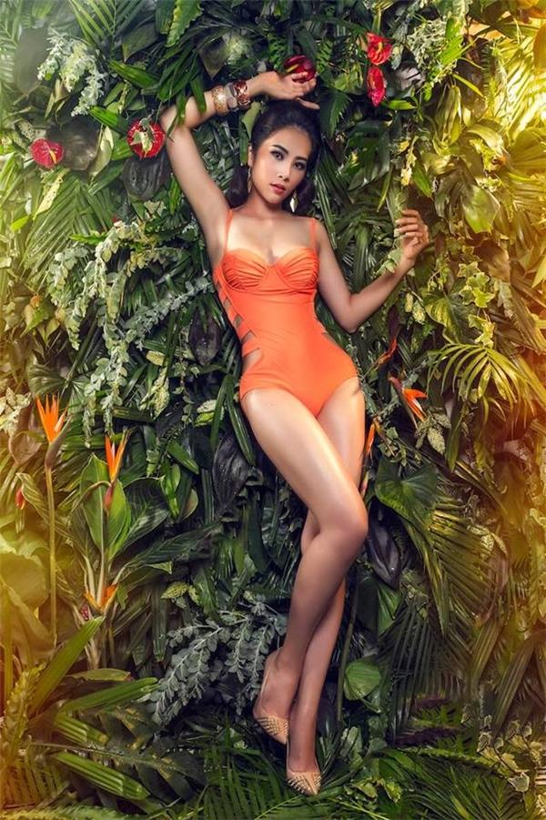 Nam Em chính thức đại diện Việt Nam tại Hoa hậu Trái Đất 2016