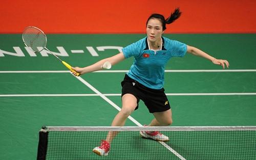 Vũ Thị Trang Rio 2016 Olympic Games cầu lông