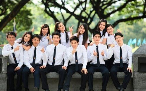 Đồng phục của sinh viên Thái.(Ảnh: Internet)