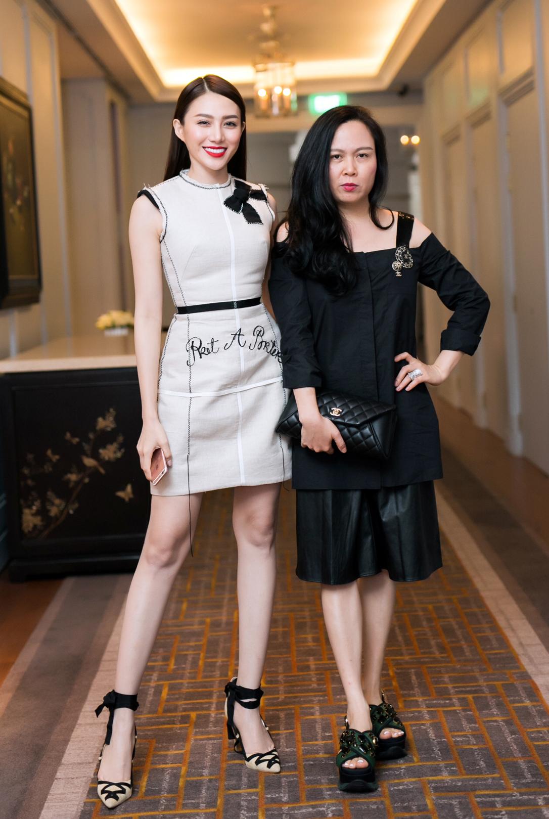 Lê Hà và doanh nhân Phượng Chanel