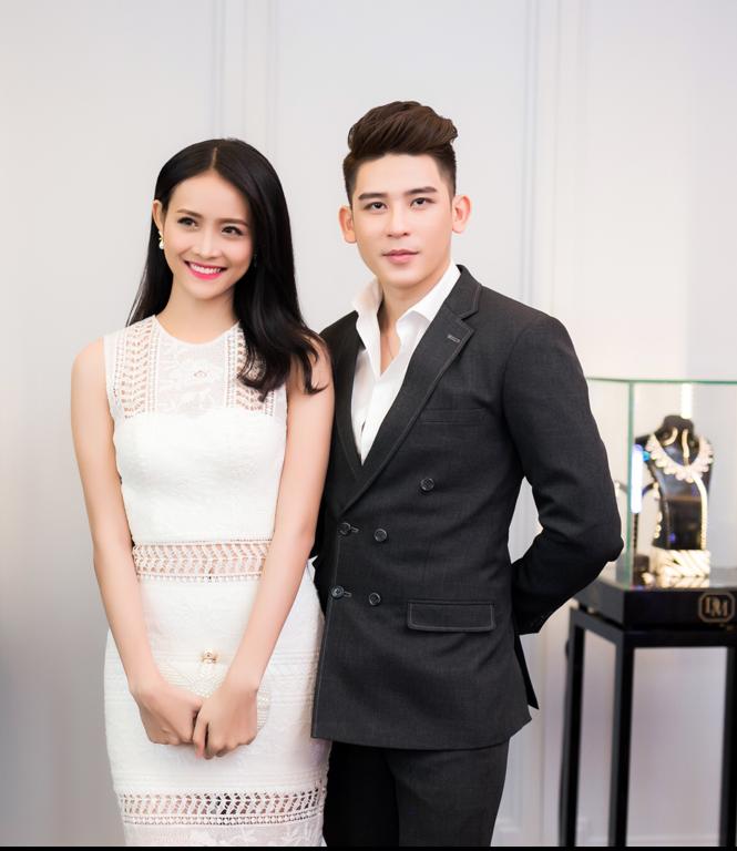 Trương Mỹ Nhân khoe đường cong với váy ren bó sát của nhà thiết kế Đỗ Long.
