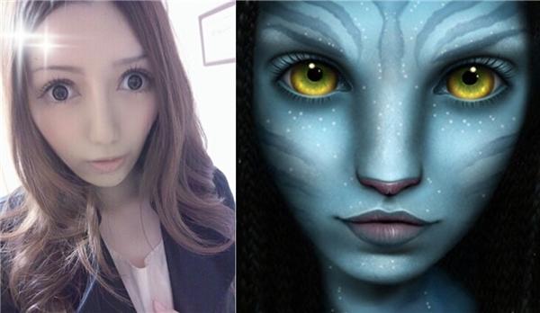 Nhiều người so sánh Na Na với nhân vật trong phim Avatar.