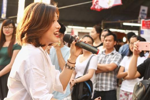 Tiêu Châu Như Quỳnh trình diễn ca khúc mới chinh phục khán giả