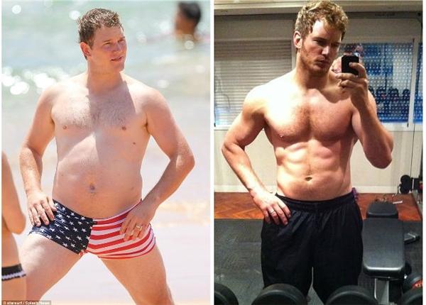 Dù thân hình đã trở nên hấp dẫn hơn nhưng Chris vẫn là chàng trai vui tính và thân thiện trong các bộ phim anh tham gia.