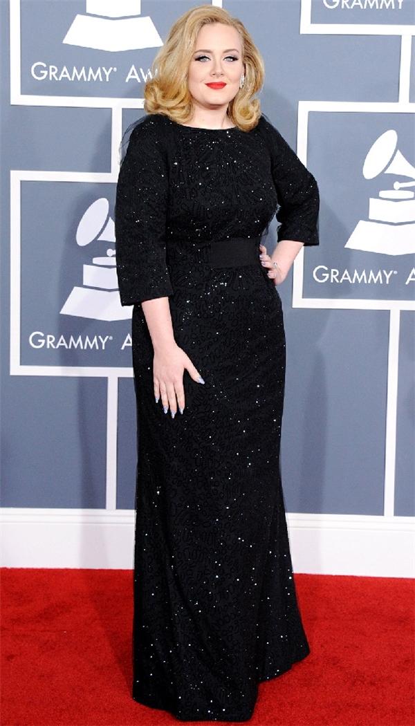 Nhắc đến Adele thì người ta nghĩ ngay đến giọng hát mê đắm.