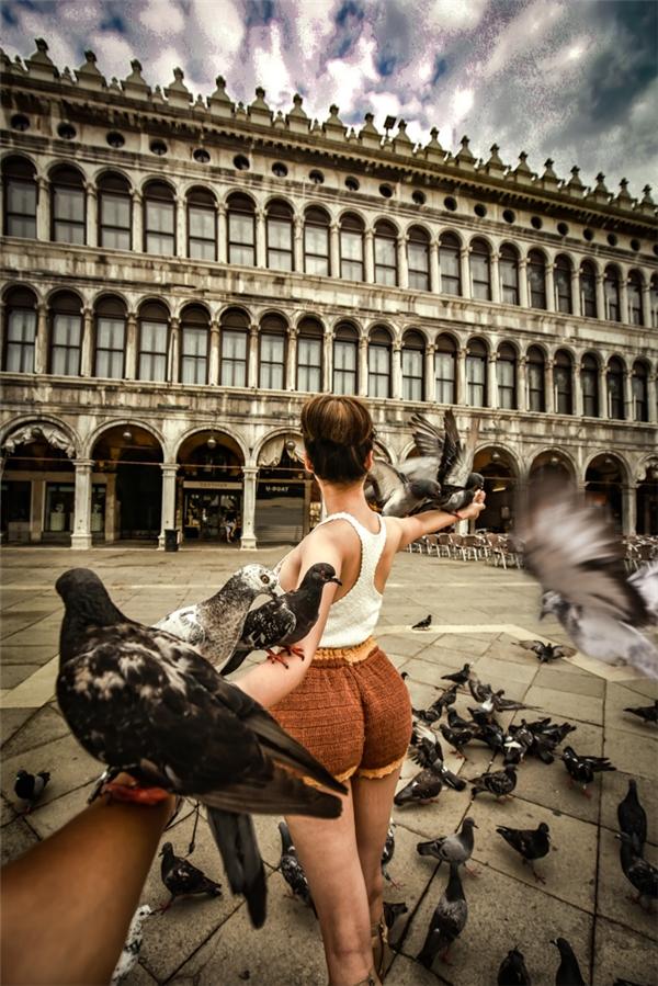 Quảng trường Thánh San Marco của Venice - Italy.(Ảnh: MrLee)