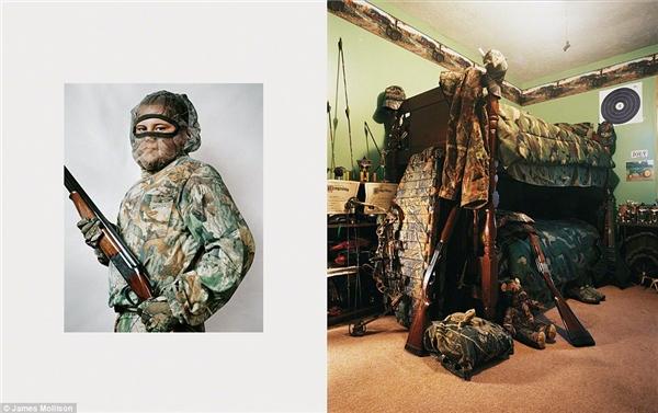 Joey, 11 tuổi, Kentucky, Hoa Kỳ: Joey là một tay săn đầy tham vọng và thường xuyên đi săn cùng cha. Cậu rất tự hào về 2 khẩu súng trường và bộ nácủa mình và đã từng bắn chết mộtcon nai khi mới lên 7. Joey hi vọng sẽ sớm được dùng ná khi đi săn bởi cậu đã quá chán việc vác súng lên rừng vàomỗi mùa săn bắn. Giường ngủ của Joey được trang trí như một chiến binh thật sự với những họa tiết rằn ri đậm chất chiến trường.