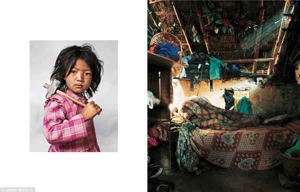 Indira, 7 tuổi, Nepal: Indira đã làm việc tại mỏ đá granite cùng với cha mẹ từ khi 3 tuổi. Mỗi ngày cô bé phải làm việc liên tục từ 5-6 tiếng rồi lại trở về nhà chăm lo việc gia đình. Ngôi nhà gia đình Indira đang sống chỉ có 1 phòng duy nhất với 1 cái đệm là chỗ ngủ của 3 chị em. Indira may mắn vẫn được đến trường nhưng phải đi bộ mỗi ngày 30 phút chỉ để tham dự một tiết học ngắn. Mơ ước của Indira là trở thành một vũ công chuyên nghiệp.