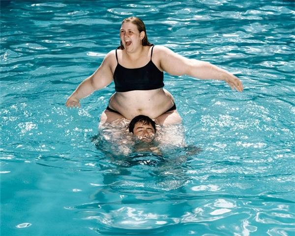 Đó là lần cuối cùng tôi nhìn thấy anh ấy bén mảng đến bể bơi.