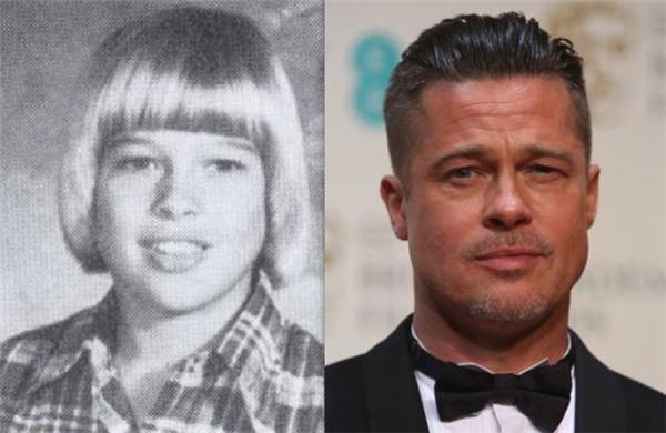 Brad Pitt cùng bức ảnh mà anh chỉ muốn chôn vùi trong ngăn kéo mãi mãi.