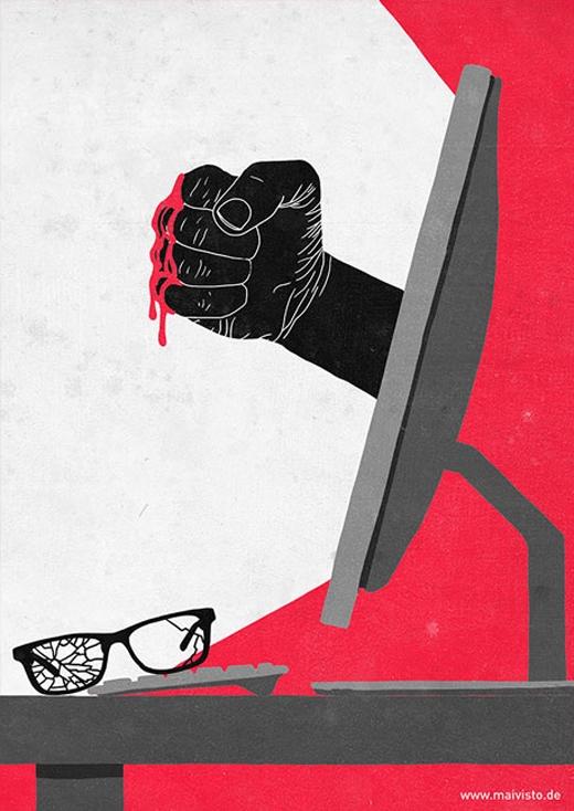 Những mối hiểm họa trên mạng luôn là bất ngờ nhất và nguy hiểm nhất.