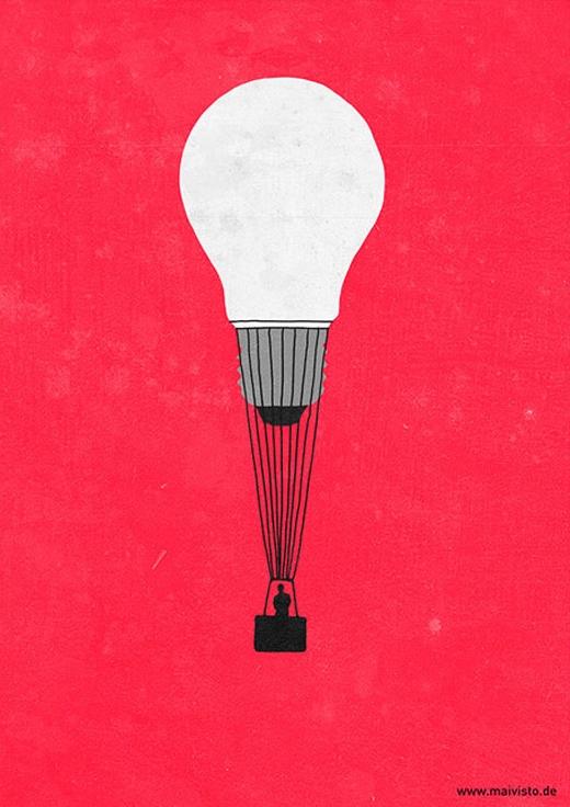 Người có ý tưởng lớn là người sẽ bay cao.