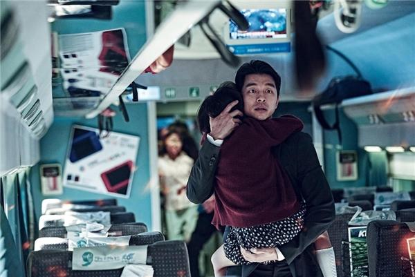 """Gong Yoo trong bom tấn """"Train To Busan"""". (Ảnh: Internet)"""