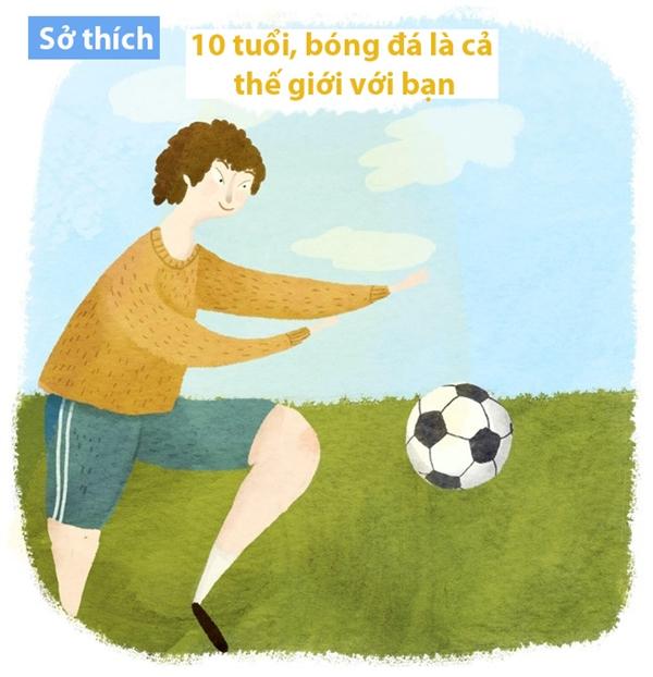 Ở cái tuổi trẻ con, thích gì là chơi nấy, không quan trọng nó sẽ mang lại được cho mình điều gì.